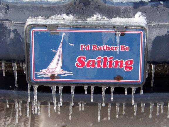 Winter… I'd Rather Be Sailing